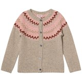 Noa Noa Miniature Silver Lining Long Sleeved Cardigan
