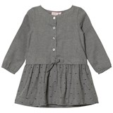 Noa Noa Miniature Grey Knee Length Long Sleeve Dress