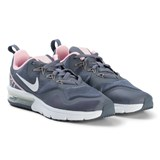 Nike Grey and White Nike Air Max Running Shoes