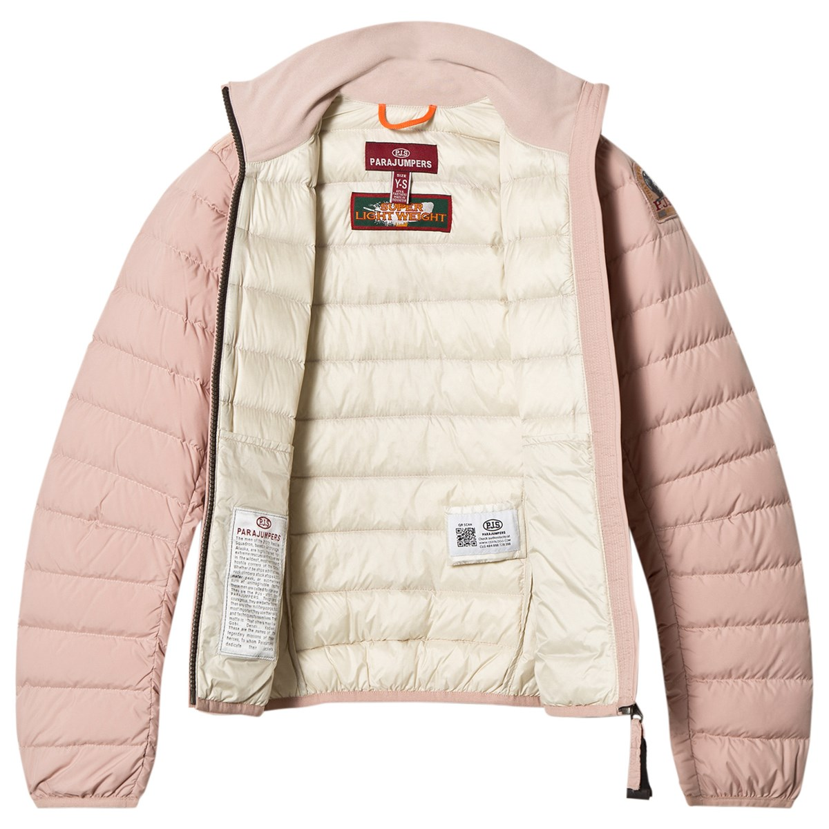 parajumpers geena powder pink