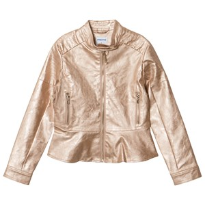 MAYORAL | Mayoral Rose Gold Applique Biker Jacket 16 Years | Goxip