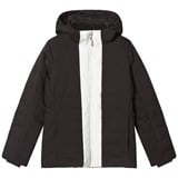Fusalp Black Backcountry Hooded Jacket