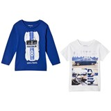 Mayoral Pack of 2 Monaco Graphic T-Shirt set