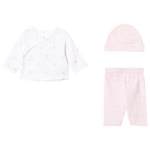 Aden + Anais Pale Pink Rose Water Dot Newborn Gift Set