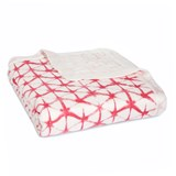 Aden + Anais Berry Shibori Silky Soft Dream Blanket