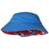 Hatley Red And Blue Loop-The-Looping Hammerheads Reversible Sun Hat