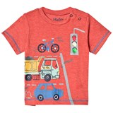 Hatley Red Intersection Fire Corallium Mini T-Shirt