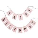 Design Letters Pink Happy Birthday Garland