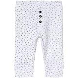 Absorba White Star Print Soft Jersey Trousers