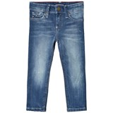 Tommy Hilfiger Blue Mid Denim Scanton Slim Fit Jeans
