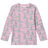 Gardner and The Gang Light Pink Susie Snake Long Sleeved Tee
