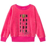 Gardner and The Gang Candy Pink Social Fan Club Classic Velour Sweatshirt