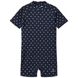 Wheat Navy Anchor Cas Swimsuit