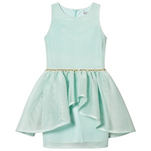 DAVID CHARLES | David Charles David Charles Mint Mesh Dress With Peal Waist Detail 8 Years | Goxip