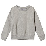 Gardner and The Gang Light Grey Socialite Ruffle The Classic Sweatshirt