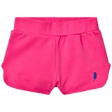Gardner and The Gang Candy Pink Bolt Embroidered Shorts