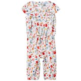 Mayoral Multi Floral Ruffle and Bow Detail Jumpsuit