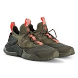 Nike Olive Green Nike Huarache Run Drift Shoes