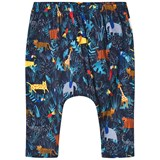 Paul Smith Junior Navy Multi Animal Print Hareem Leggings