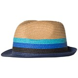 Paul Smith Junior Beige and Blue Straw Trilby