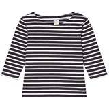 Gray Label Nearly Black and White Stripe T-Shirt