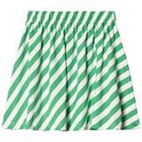 Beau Loves Green Diagonal Stripes Skirt