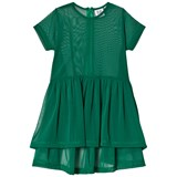 Beau Loves Green Oversized Net Dress