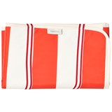 Tinycottons Off-White and Carmine Striped Baby Changer
