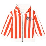Tinycottons Carmine and Off-White Hôtel Bonheur Staff Hoodie