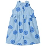 Tinycottons Blue All Inclusive Long Tank Dress