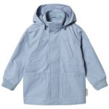 Tinycottons Light Cerulean Blue Solid Jacket