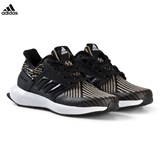 adidas Performance Black RapidaRun Knit Kids Trainers