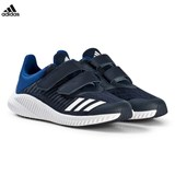 adidas Performance Navy and White FortaRun Velcro Trainers