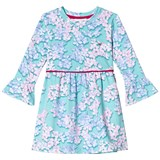 Livly Green Pink and Blue Bloom Lotta Dress
