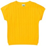 FUB Yellow Knit T-Shirt