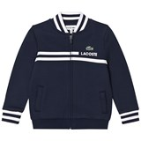 Lacoste Navy Classic Tennis Full Zip Sweatshirt