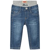 Levi's Light Wash Pull Up Jeans