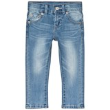 Levi's Blue Light Wash 510 Skinny Jeans
