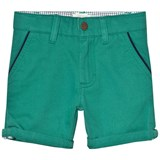Carrément Beau Green Chino Shorts with Pipe Pockets