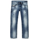 Diesel Acid Wash and Distressed Tomer Skinny Fit Jeans
