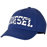 Diesel Blue Branded Baseball Cap