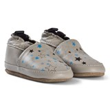 Melton Chateau Grey Star Sky Leather Shoes