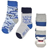 Joules Blue Shark Character Socks Set