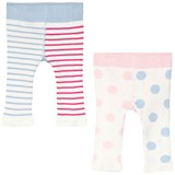 Joules Pink Blue and Cream Cat Character Lively Leggings