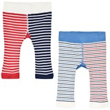 Joules Blue And Red Shark Infants Lively Leggings
