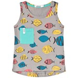 Indikidual Grey Multicolour Fish Vest