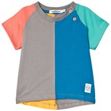 Indikidual Multi Colour Dip Back Short Sleeve T-Shirt