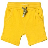 Catimini Yellow Jersey Pull Up Shorts
