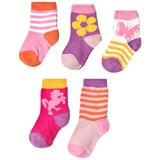 Melton Pink Numbers Socks Set
