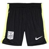 Nike Black and Green Neymar Shorts